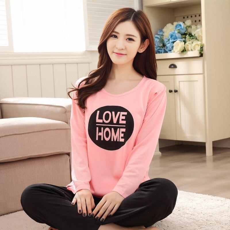 Pregnant Women Confinement Clothing 0510-6 # Japanese Korean Hoodie WOMEN'S Pajamas Spring And Autumn Maternal Feeding Lactation