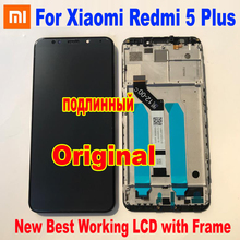 100% מקורי חדש Xiaomi Redmi 5 בתוספת 10 מגע מסך Digitizer LCD תצוגת הרכבה חיישן עם מסגרת או Redmi 4 ראש 32GB