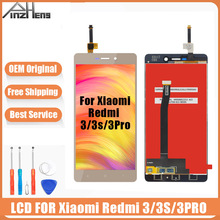 AAAA Original LCD For Xiaomi Redmi 3S 3 Pro Screen Display Digitizer Assembly Replacement LCD For Xiaomi Redmi 3S 3 Pro Screen