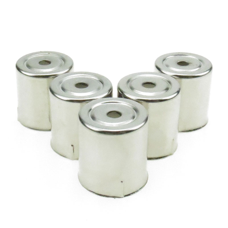5PCS/LOT Stainless Steel Round Hole Magnetron Caps For Microwave Replacement Parts For Microwave Ovens Copler Microondas Caps