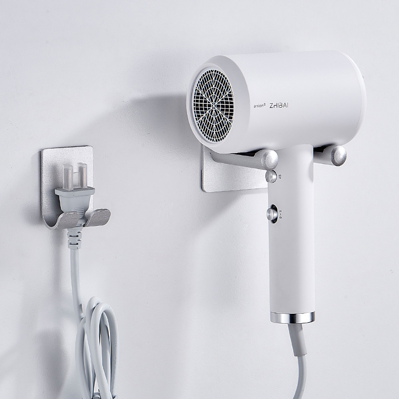 Dyson Hair Dryer Bracket Hole Punched Alumimum Straightforward Hair Dryer Holder Bathroom Blow Dryer Rack A Generation Of Fat
