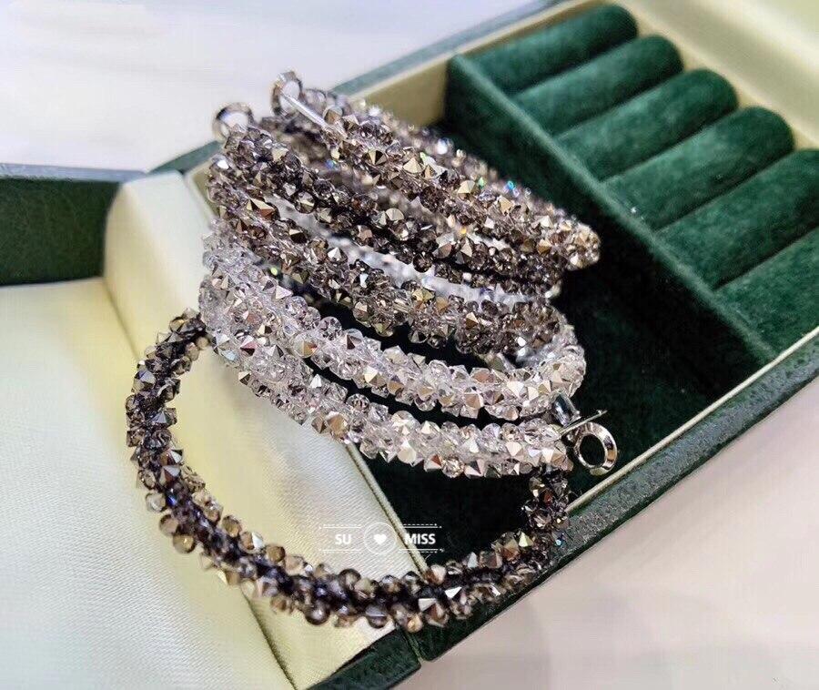 Vintage coréen grandes boucles d'oreilles pour les femmes mode féminine platine placage cubique zircone goutte boucle d'oreille géométrique bijoux 2019