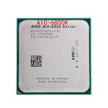 A10 6800K de cuatro núcleos de CPU, envío gratis, AMD Serie A, ACU X4, 100%, A10, 6800K, FM2