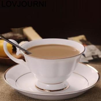 Milk Tazzine Caffe Taza Para Cafe Tea Xicara Koffie Kopjes Cute New Creative Mok Caneca Ceramic Coffee Novelty Cup And Mug