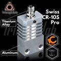 Trianglelab Swiss CR10S PRO Hotend обновленный комплект прецизионный алюминиевый радиатор титановый теплоотвод 3D принтер Hotend для CR-10S PRO