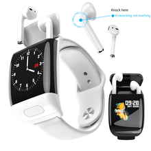 LIGE Wireless Headphones Smart Watch Men Women Heart Rate Pe