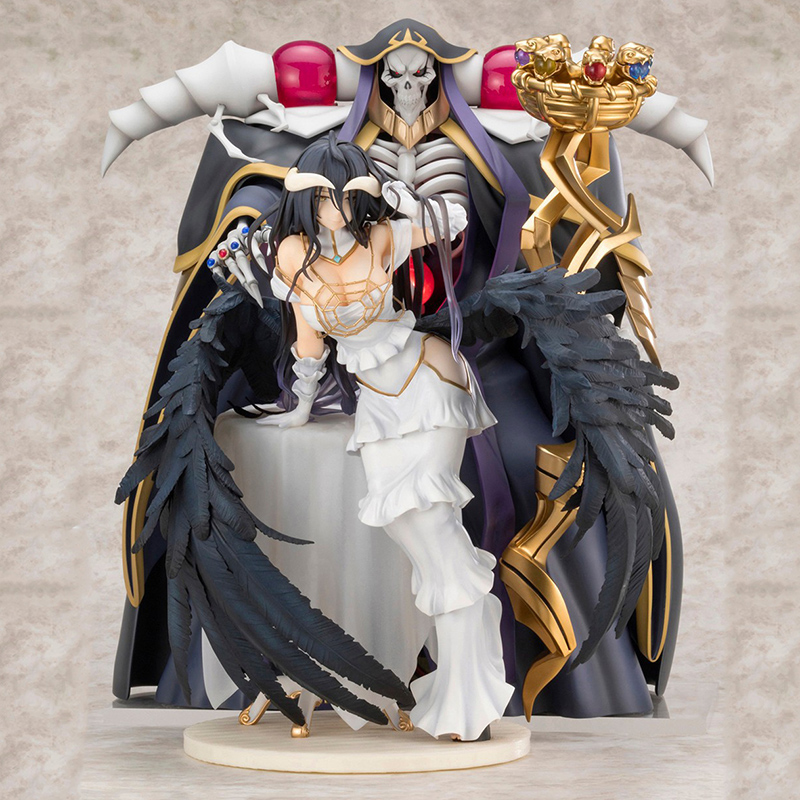 Anime Overlords Albedo Cartoon Sexy Girls PVC Action Sexy Figures Collection Model Toys Doll Gifts