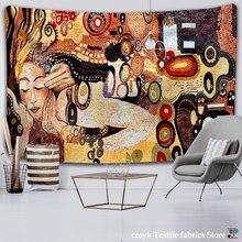 Mosaik Wandmalereien Wandteppich Hängen Böhmischen Strand Matte Polyester Decke Yoga Matte Hause Schlafzimmer Kunst Teppich
