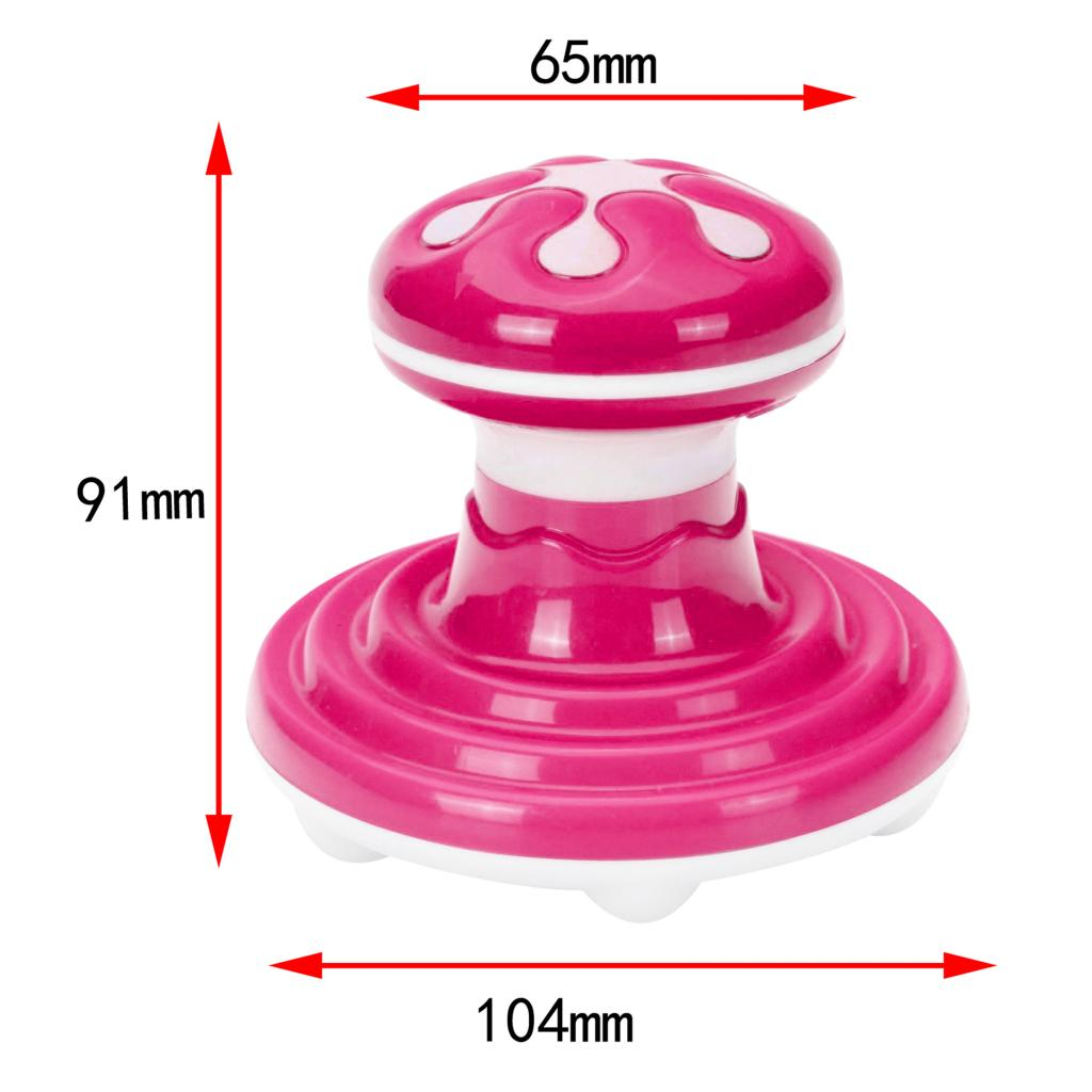Mini Electric Massager Portable Hand Held Full Body Vibrating Massage Tool Neck Waist Back Shoulder Massage Relax Tool USB