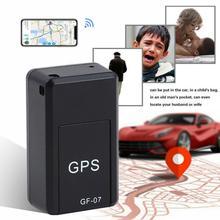 GF07 GSM GPRS мини автомобильный gps локатор трекер Автомобильный gps трекер анти-потеря записи отслеживающее устройство Голосовое управление может записывать
