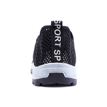 Couples Tennis Shoes Breathable Lightweight Slip-on Hollow o
