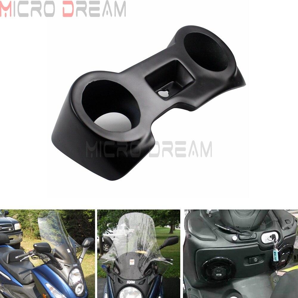 1 X moto Scooter noir haut-parleur garniture garde Woofer boîte corne couverture Tong stéréo anneau pour SYM Voyager GTS 125 250 300