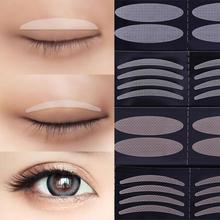 Double Eyelid Tape Invisible Double Fold Eyelid Shadow Sticker Natural Makeup Clear Eyelid Strip Eyes Make Up Tool# 5pieces lot soft plastic open eye practice makeup doll head 1 6 white double fold eyelid diy heads for barbies bjd make up