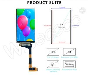 Image 3 - LS055R1SX03 5.5 인치 2k IPS LCD 모듈 VR LCD WANHAO D7 3d 프린터 프로젝터 용 MIPI 보드에 2560*1440 LCD 화면 디스플레이