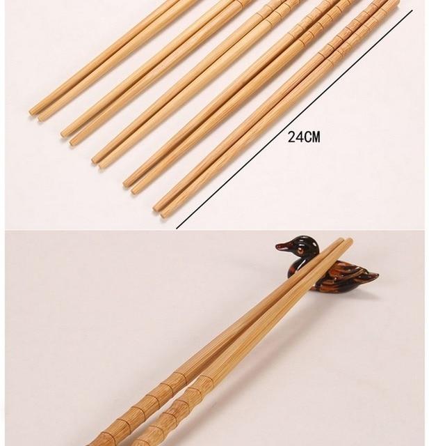 Купить 10 пар ручных палочек для еды из натурального бамбука здоровые картинки цена
