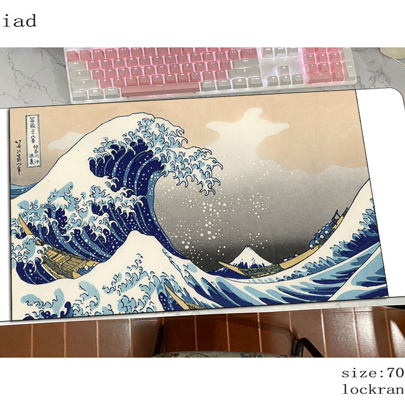art mousepad present gaming mouse pad 700x400x4mm pc computer gamer accessories large mat Birthday laptop desk protector pads