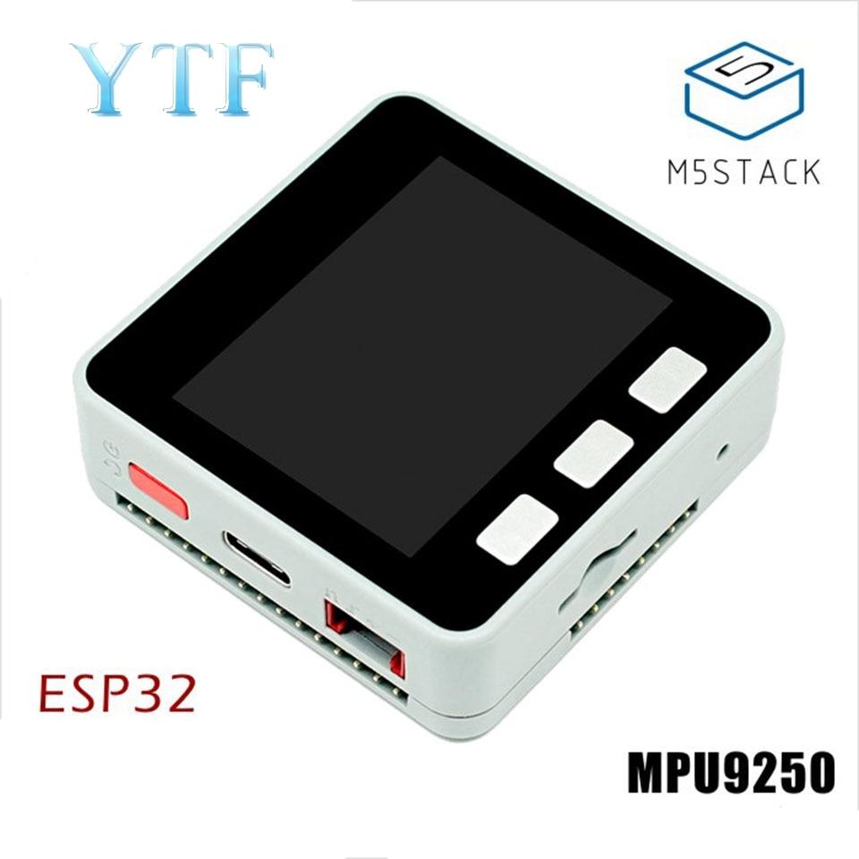 M5Stack ESP32 платы MPU6886 + BMM150 маленький серый набор IOT для