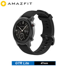 Amazfit GTR Lite Smart Watch 47mm Smartwatch 5ATM Waterproof 1.39'' AMOLED Screen 24 Days Battery For Android IOS Men Watch(China)