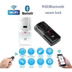 WAFU 011A Wireless Smart Lock Wifi BT Elektronische Türschloss Telefon Fernbedienung Fernbedienung Elektronische Finger Touch Unsichtbare Sperre