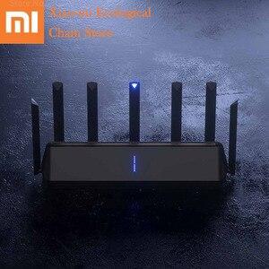Image 1 - Xiaomi AIoT беспроводной маршрутизатор 6 AX3600 2,4 ГГц Wi Fi 5 ГГц Wi Fi ретранслятор 2976 Мбит/с двумя антеннами 512 Мб оперативной памяти 6 Сетевой удлинитель APP управление
