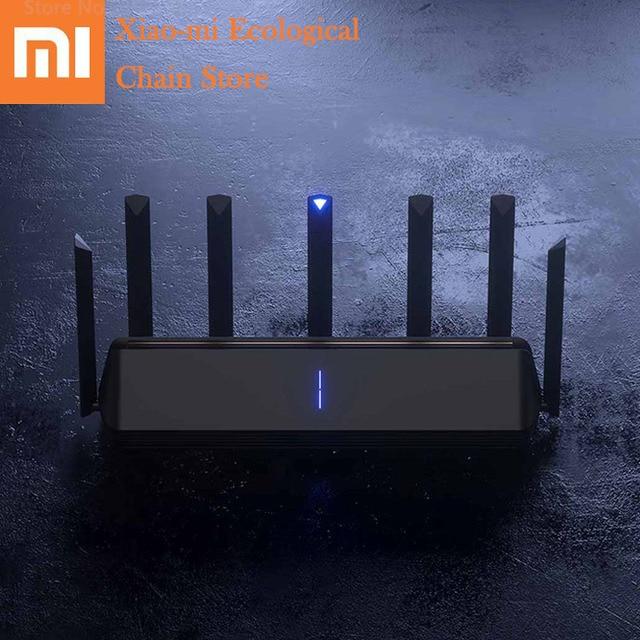 Xiaomi AIoT беспроводной маршрутизатор 6 AX3600 2,4 ГГц Wi Fi 5 ГГц Wi Fi ретранслятор 2976 Мбит/с двумя антеннами 512 Мб оперативной памяти 6 Сетевой удлинитель APP управление