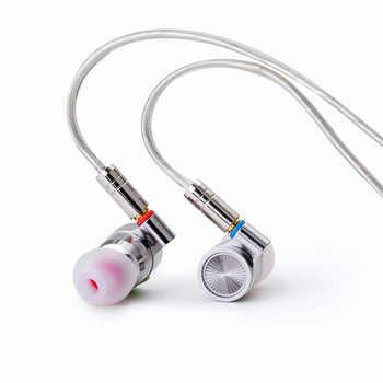 2019 TinHIFI Tin Audio T4 In Ear Earphone 10mm CNT Dynamic Drive HIFI Bass Earphone Metal Earphone Earbud With MMCX Tin T2 T3 P1