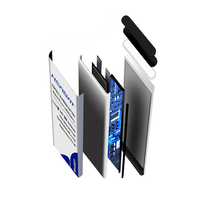 HSABAT 0 Cycle 450mAh Battery for iPod Nano 5 5th Gen High Quality Mobile Phone Replacement Accumulator