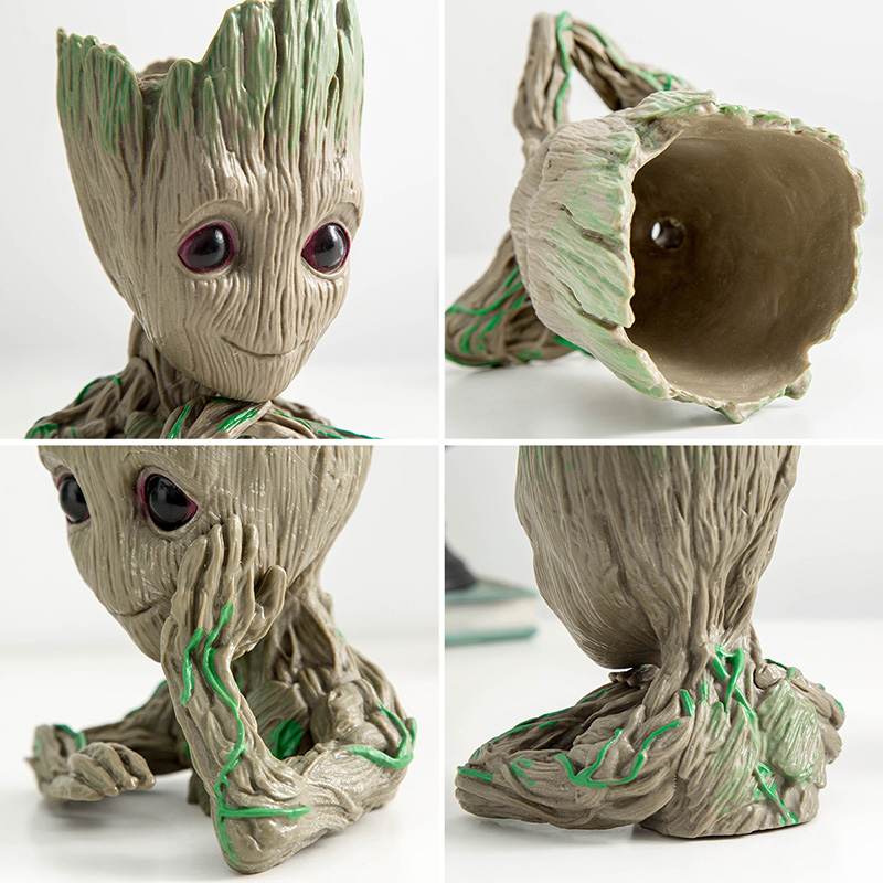 Baby Groot Flower Pot Suitable for Living Room Bed Room and study Room for Full Greenery in House 22