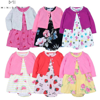 Newborn baby girls clothing cotton Baby Girl summer Clothes Set  newborn baby cute dress for 6-24m 2020 fashion Baby clothing zofz newborn baby clothing cotton baby girls short sleeve set three piece princess dress set with bow hair band and underpants