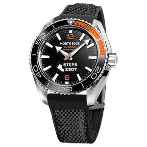 Image 2 - Kuzey kenar erkek spor akıllı saatler su geçirmez 50M pedometre nabız monitörü spor izci FLOAT dokunmatik tec ekran saati