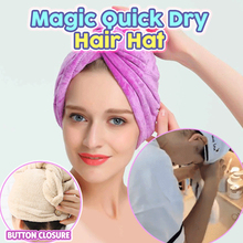Microfiber Hair Towel Wrap Super Absorbent Quick Dry Turban Drying Curly Long Thick Hair Bath Cap Drying Wraps Bathroom Towels lady s dry hair towel bathroom soft super absorbent quick drying microfiber bath towel cap salon hat cap turban 3 colors