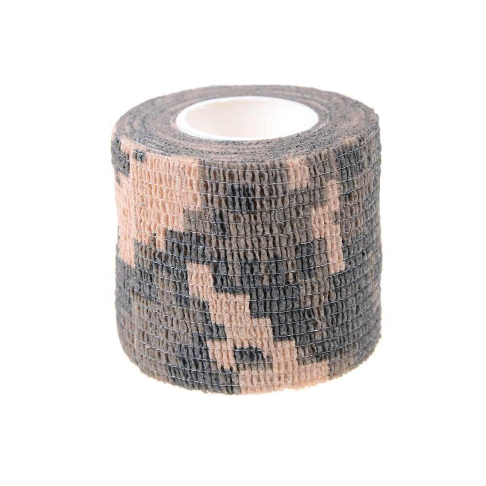 1 rolo de látex natural auto adesivo tornozelo dedo elástico médica bandagem gaze vestir fita esportes suporte de pulso