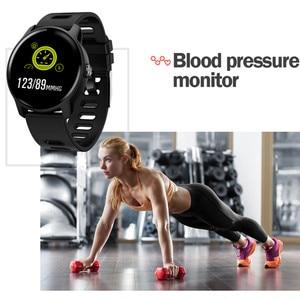 Image 4 - Смарт часы S08 для занятий спортом на открытом воздухе, фитнес трекер с несколькими видами спорта, пульсометр, IP68 Водонепроницаемые мужские Смарт часы