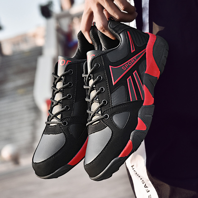 Shoes Men Lightweight Breathable High Quality Lovers Couple Casual Shoes Comfortable Sneakers Lace-up Mesh Shoes Fashion 36-45