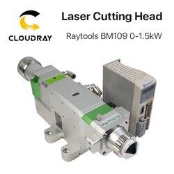 Raytools BM109 0-1,5 кВт Автоматическая Фокусирующая волоконная Лазерная режущая головка для резки металла