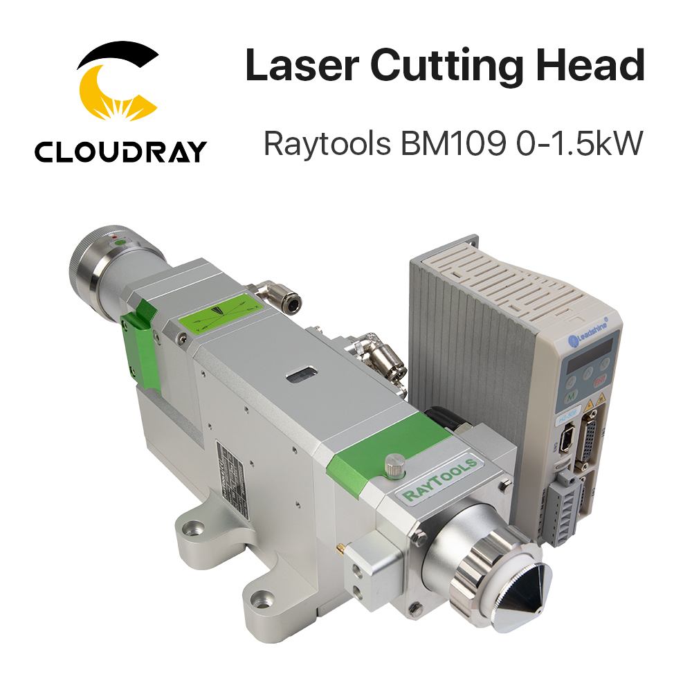 Raytools BM109 0-1.5kW Auto Focusing Fiber Laser Cutting Head For Metal Cutting