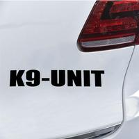 2019 K9-Unit Car-Styling Vehicle Body Window Reflective Decals Sticker Decoration 1