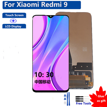 6.53'' Original Display For Xiaomi Redmi 9 Touch Screen LCD Display Digitizer Assembly For Xiaomi Redmi 9 100% Tested недорого