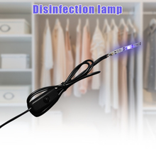 UV Light Eliminator Lamp Ultraviolet Lights for Home Travel Shoebox Wardrobe Luggage 270nm CLH@8