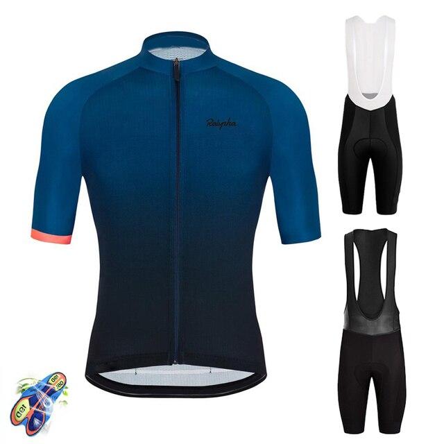 Raphaful 2020 RCCผู้ชายสวมใส่จักรยานRoupas Ropa Ciclismo Hombre MTB Maillotจักรยานฤดูร้อนจักรยานเสื้อผ้าTriathlon