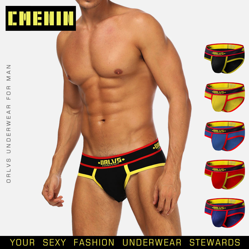 Gay Men Underwear Male Fashion Sleepwear Clothing Slip Brief 2021 New Brand Sexy Underwear Men Briefs Slip Jockstrap Men Bikini