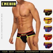 Sexy Underwear Clothing Slip-Jockstrap Men Briefs Gay Men Fashion New-Brand