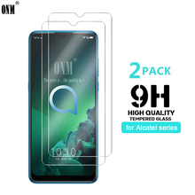 2Pcs Tempered Glass For Alcatel 3 3x 1S 1X 1V 3L 2019 Screen Protector 9H 3X 3V 5V 2018 *