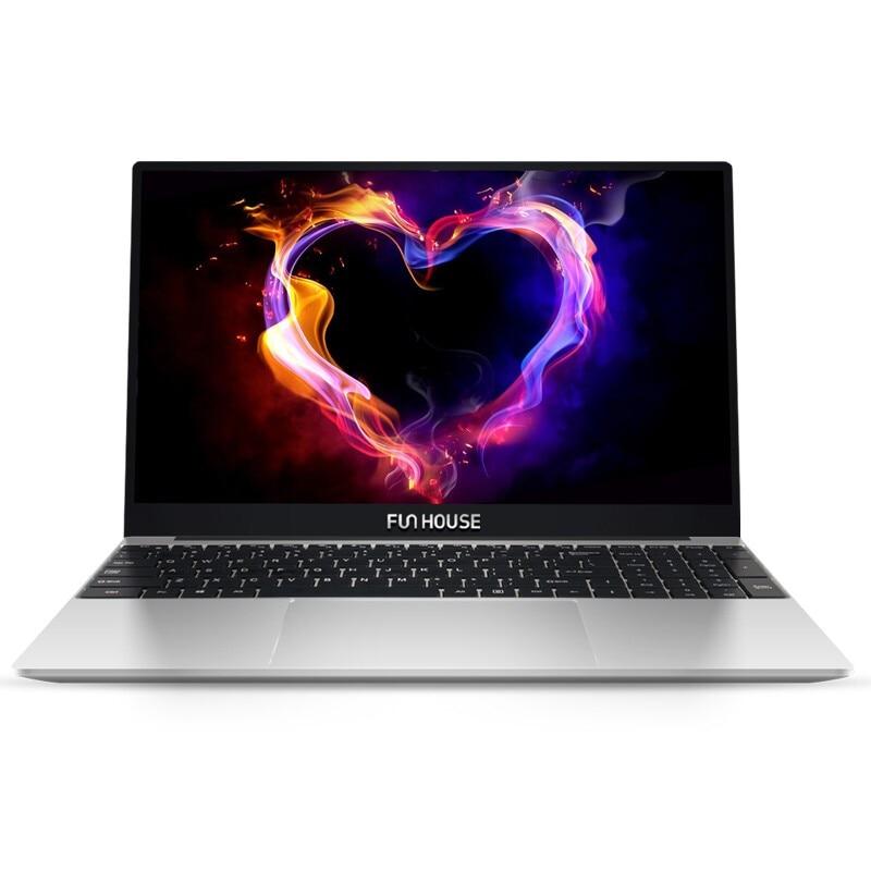Funhouse 15.6Inch J4115/4105 8G/12G RAM 256G SSD Computer Portable Desktop Notebook Gaming Tablet Backlight Metal Gaming Laptops-0