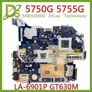 KEFU 5750 LA-6901P материнская плата для acer 5755 5750G 5755G материнская плата для ноутбука GT630M оригинальная тестовая работа 100%