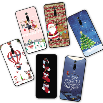 Redmi Note 7 S2 Merry Christmas Tree Bear Phone cases for Xiaomi Redmi 6A 5A 4A 4 5 6 7 Pro 5Plus GO Santa Claus soft tpu cover 1