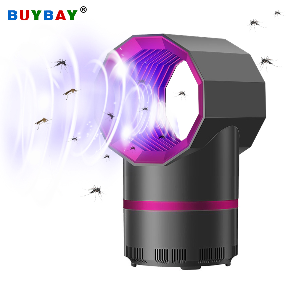 Anti mosquito led USB electric mosquito killer lamp UV night light anti fly mosquito zapper muggen killer insect trap for Living(China)