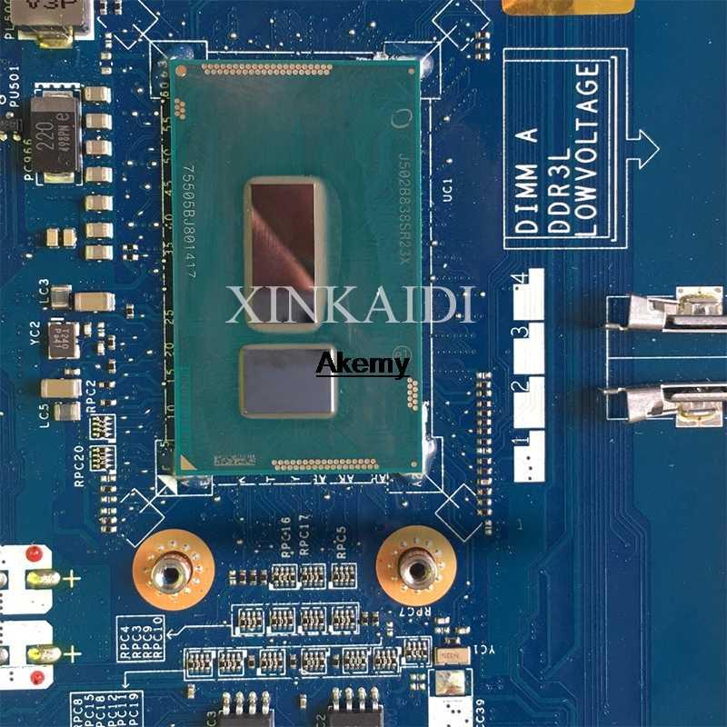 Para DELL latitud 15 E5450 placa base de computadora portátil SR211 i3-5010U CPU ZAM70 LA-A901P prueba 100% trabajo