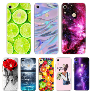 Case For Huawei Honor 8A Case Cover Silicone Case For Huawei Honor 8a Cover Flower Cartoon TPU Fundas For Honor 8A JAT-LX1 Capa