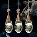 Современная роскошная бутылка  светодиодные люстры  освещение  Lustre Crystal Dining Room  светодиодная подвесная люстра  светодиодная лампа  подвесно...